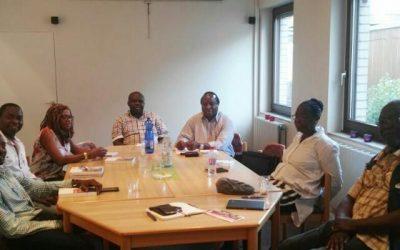 Kerngruppe des Haus Afrika startet