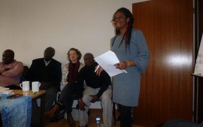 Aktionsteamgebilde des Haus Afrikas