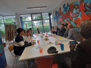 "Kooperation in 2019 Haus Afrika – Karl Arnold Stiftung: Projekt ""Demokratiewerkstatt"""
